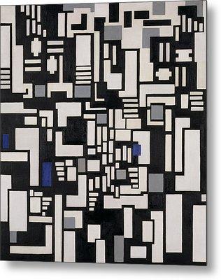 Composition Ix Metal Print by Theo Van Doesburg