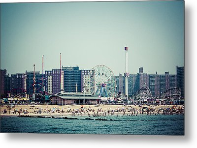 Coney Island Dream Metal Print by Frank Winters