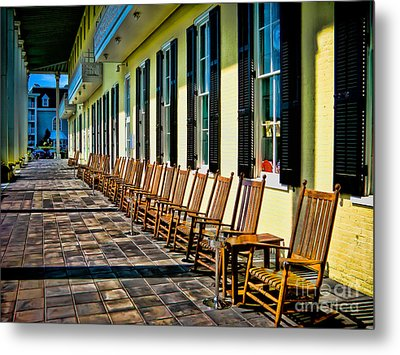 Congress Hall Rockers Metal Print by Colleen Kammerer