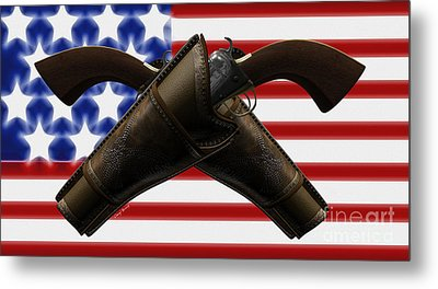 Constitutional Rights Metal Print by Cheryl Young