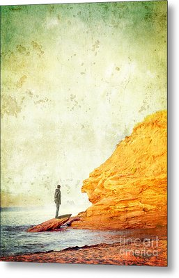 Contemplation Point Metal Print by Edward Fielding