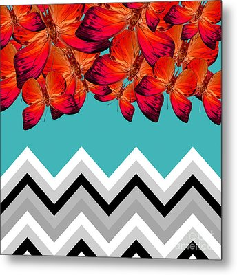 Contemporary Design Metal Print by Mark Ashkenazi