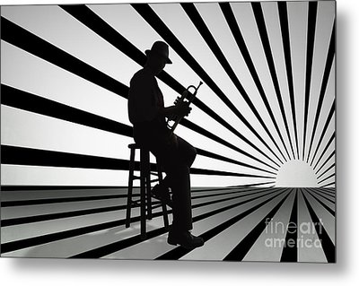 Cool Jazz 2 Metal Print by Bedros Awak