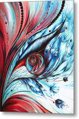 Cool Synergy Metal Print by Andrea Carroll