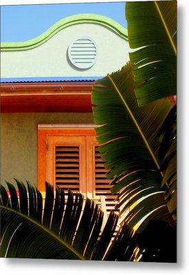 Cool Tropics Metal Print by Karen Wiles