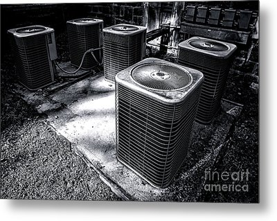 Cooling Power Metal Print by Olivier Le Queinec
