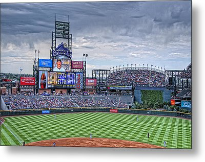 Coors Field Metal Print by Ron White