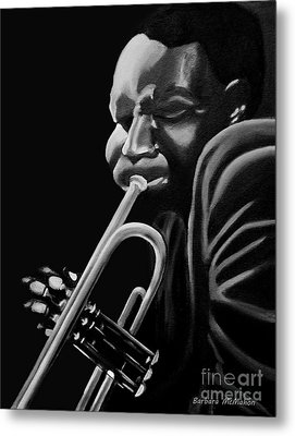 Cootie Williams Metal Print by Barbara McMahon