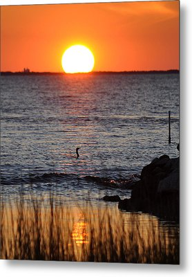 Core Sound Sunset Metal Print by James Lewis