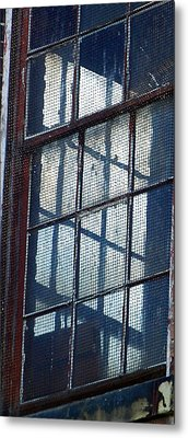 Corner Office Metal Print by Jenny Bowman