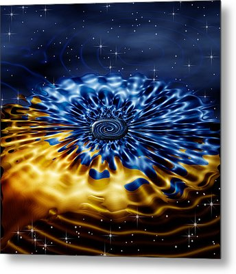 Cosmic Confection Metal Print by Wendy J St Christopher