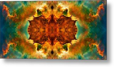 Cosmic Kaleidoscope 2  Metal Print by Jennifer Rondinelli Reilly - Fine Art Photography
