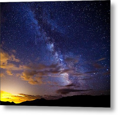 Cosmic Traveler  Metal Print by Darren  White
