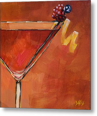 Cosmopolitan Metal Print by Sue  Darius