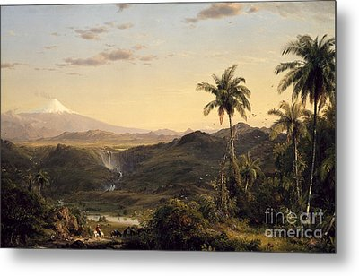 Cotopaxi Metal Print by Celestial Images