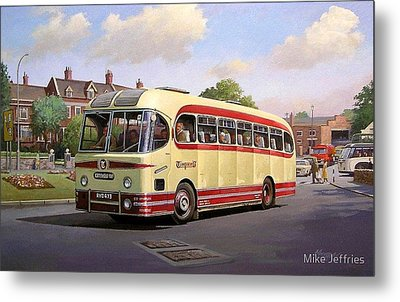 Cotswold Tour 1957 Metal Print by Mike  Jeffries