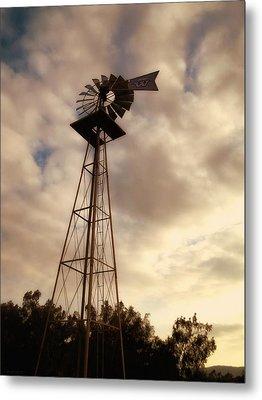 Cotton Skies Metal Print by Glenn McCarthy Art and Photography