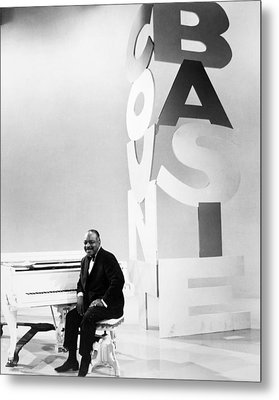 Count Basie (1904-1984) Metal Print by Granger