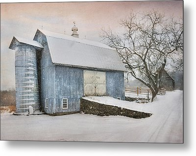 Country Blue Metal Print by Lori Deiter