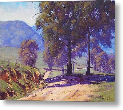 Country Road Oberon Metal Print by Graham Gercken