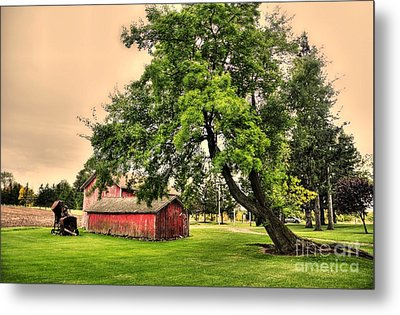 Country Scene Metal Print by Kathleen Struckle
