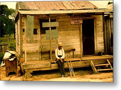 Country Store Natchitoches Louisiana Metal Print by Marion Wolcott