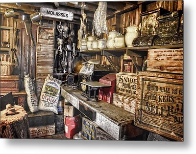 Country Store Supplies Metal Print by Ken Smith