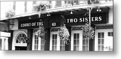 Court Of The Two Sisters Metal Print by Scott Pellegrin
