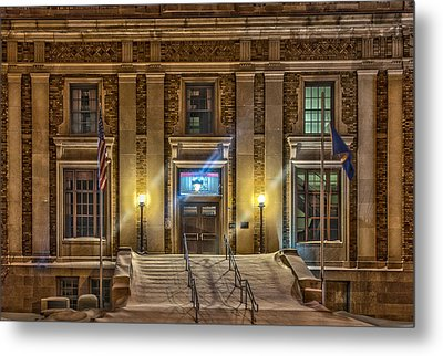 Courthouse Steps Metal Print by Paul Freidlund