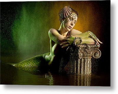 Couture Mermaid Metal Print by Adam Chilson