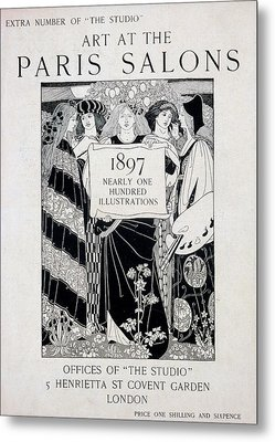 Cover For Art At The Paris Salons Metal Print by English School
