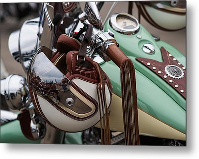 Cowboys Of The 21st Century - Featured 3 Metal Print by Alexander Senin