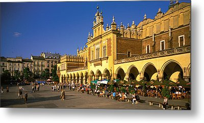 Cracow Poland Metal Print by Panoramic Images