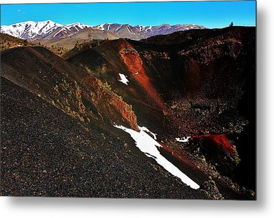 Craters Of The Moon Metal Print by Benjamin Yeager