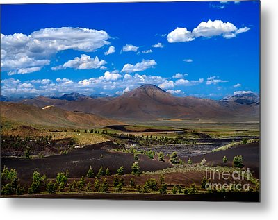 Craters Of The Moon Metal Print by Robert Bales