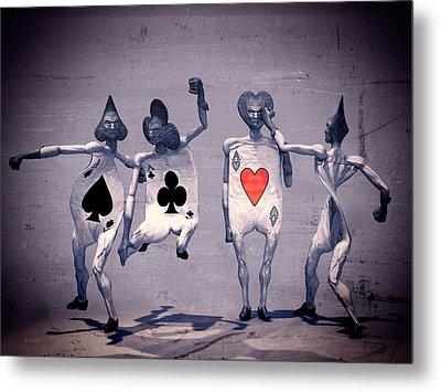 Crazy Aces Metal Print by Bob Orsillo