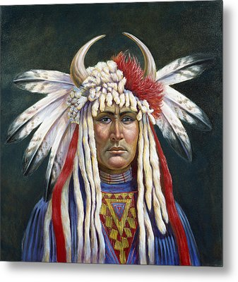 Crazy Horse Metal Print by Gregory Perillo