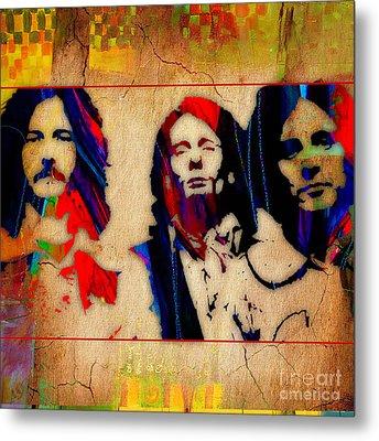 Cream Eric Clapton Jack Bruce Ginger Baker Metal Print by Marvin Blaine