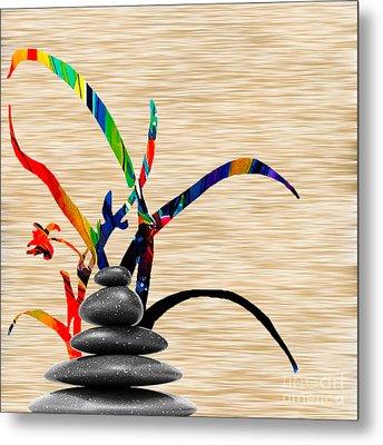 Creating Balance Metal Print by Marvin Blaine