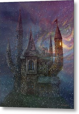 Creativity Castle Metal Print by Frank Robert Dixon