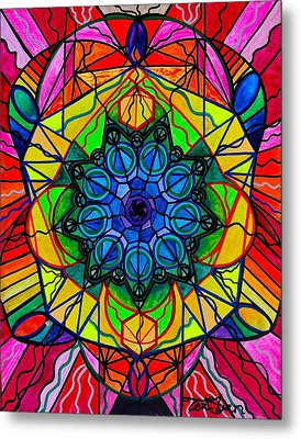 Creativity Metal Print by Teal Eye  Print Store