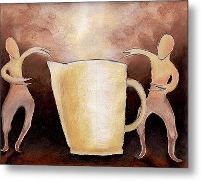 Creator Of The Coffee Metal Print by Keith Gruis