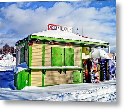 Creemees Metal Print by Edward Fielding
