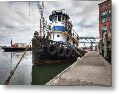 Creole Miss Metal Print by Eric Gendron