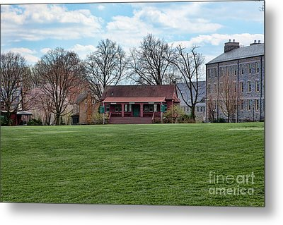 Cricket Field Haverford College Metal Print by Kay Pickens