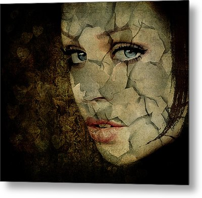 Cried For No One Metal Print by Marie  Gale