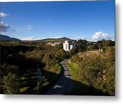 Croaghaun Hill And Flahavans Mills Metal Print by Panoramic Images