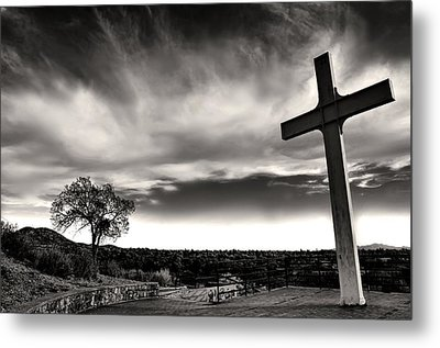 Cross Of The Martyrs Metal Print by Diana Angstadt