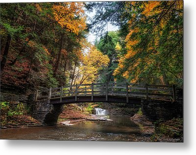 Crossing Over Metal Print by Mark Papke