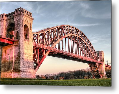 Crossing The East River Metal Print by JC Findley